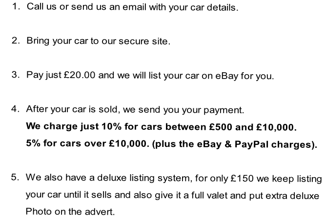 eBay Shop, Nowich | SELL YOUR CAR | Alby Auctions, Alby, Norwich